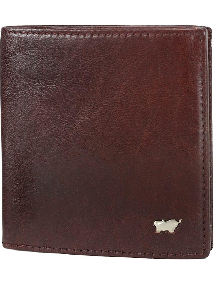 Braun Büffel Basic Geldbörse IV Leder 9,5 cm, cognac