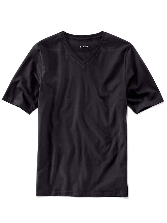 T-shirts per 2 stuks met V-hals