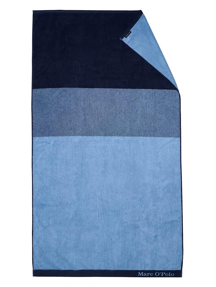Marc O'Polo Strandlaken 'Horizon', Blau