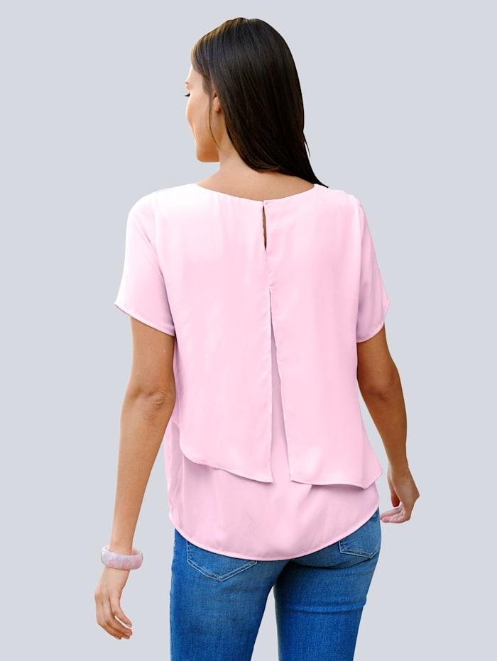 Bluse in sommerlich softer Farbstellung