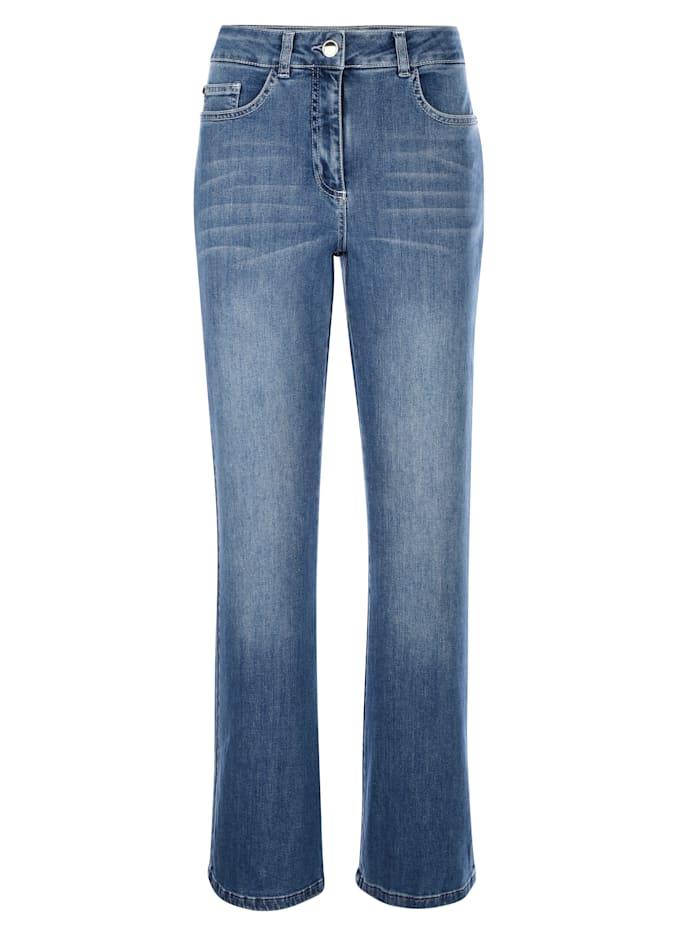 Jeans in twee lengtes