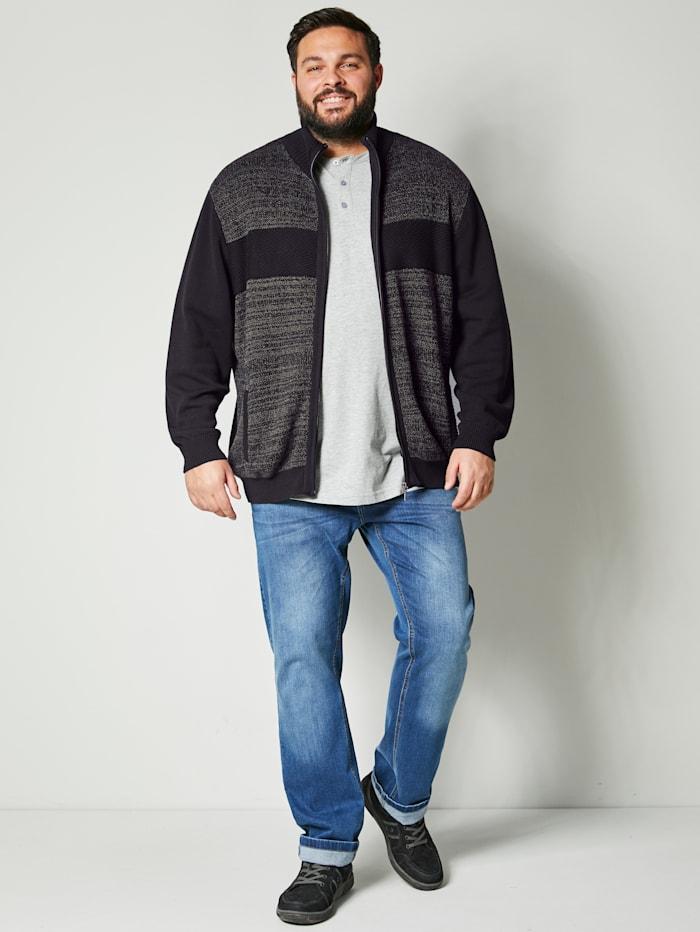 Strickjacke aus reiner Baumwolle