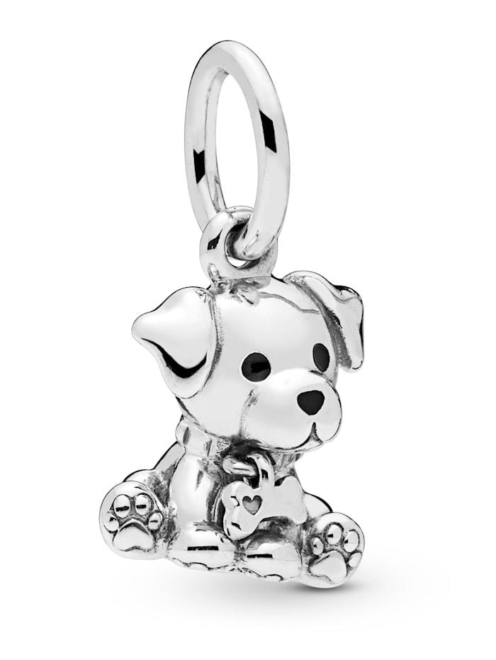 Pandora Charm-Anhänger -Labrador Welpe- 798009EN16, Silberfarben