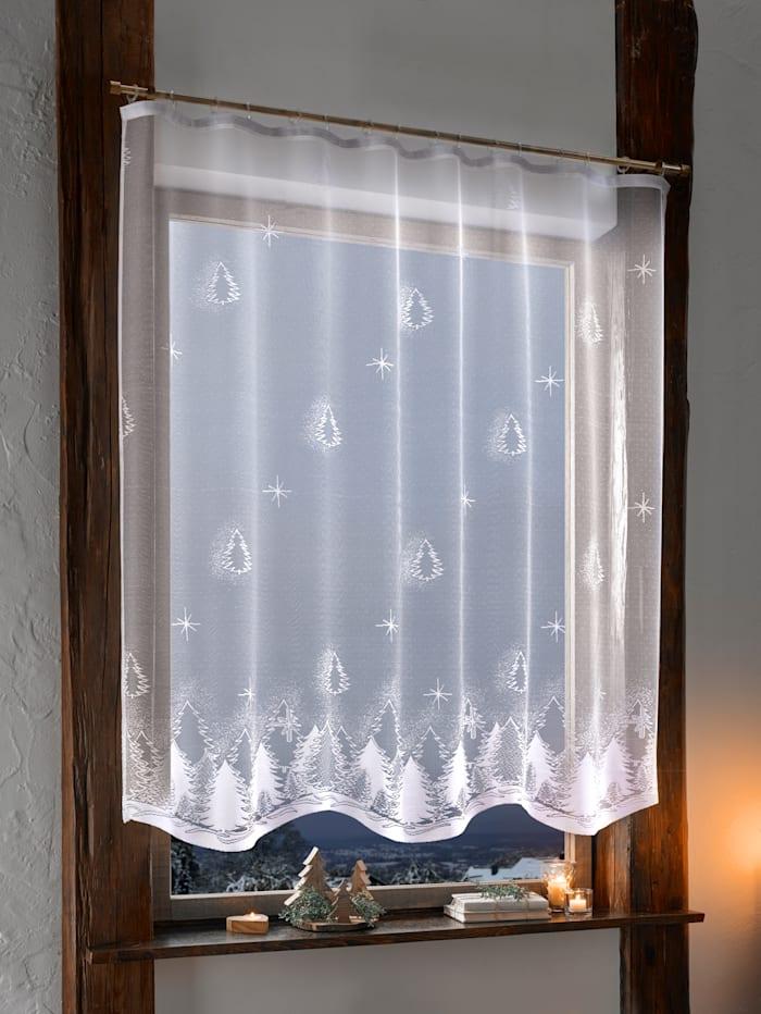 """Dekoračná záclona """"Vianočná jedlička"""""""