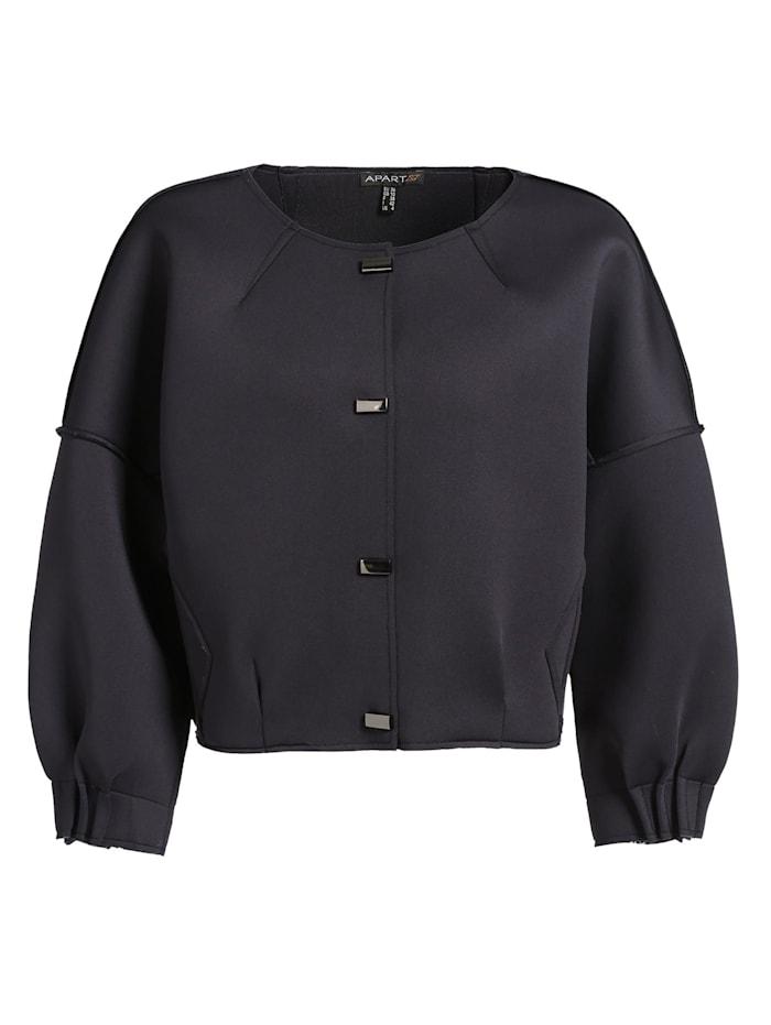 APART Jacke in einer lockeren O-Form, navy