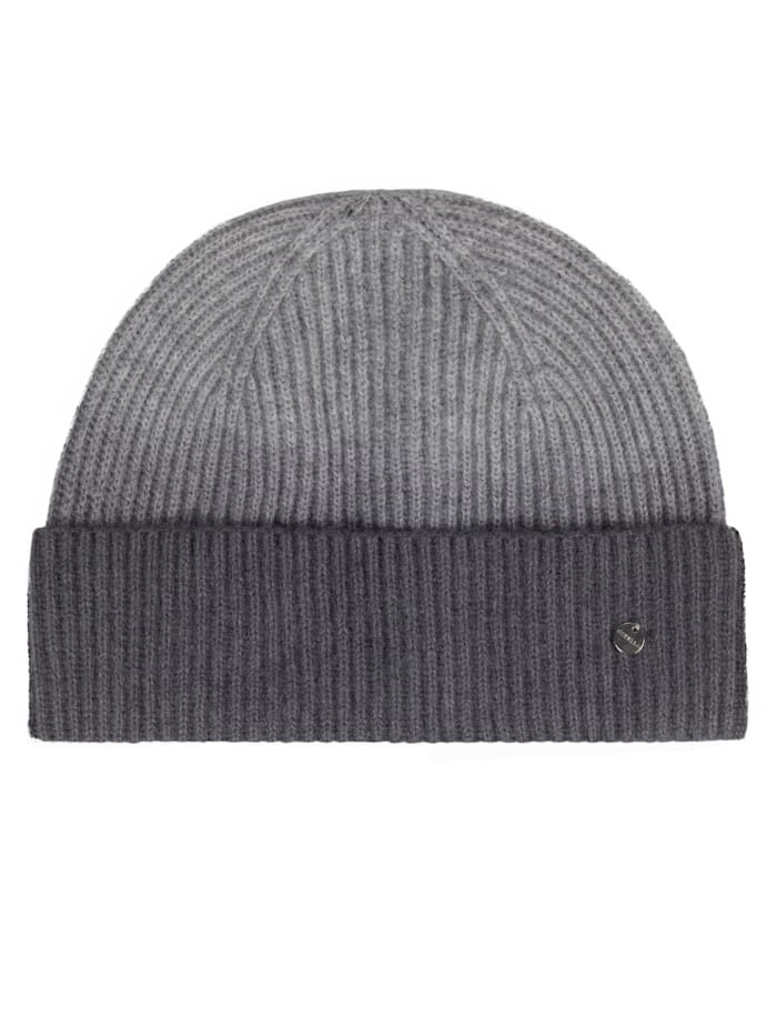 Codello Mütze aus Wolle mit Kaschmir, grey