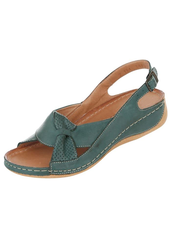 Sandaler med sløyfepynt