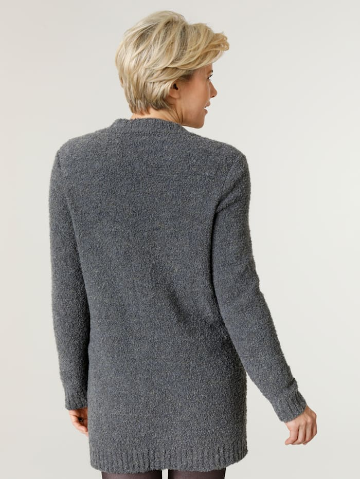 Cardigan made from a chic bouclé fabric