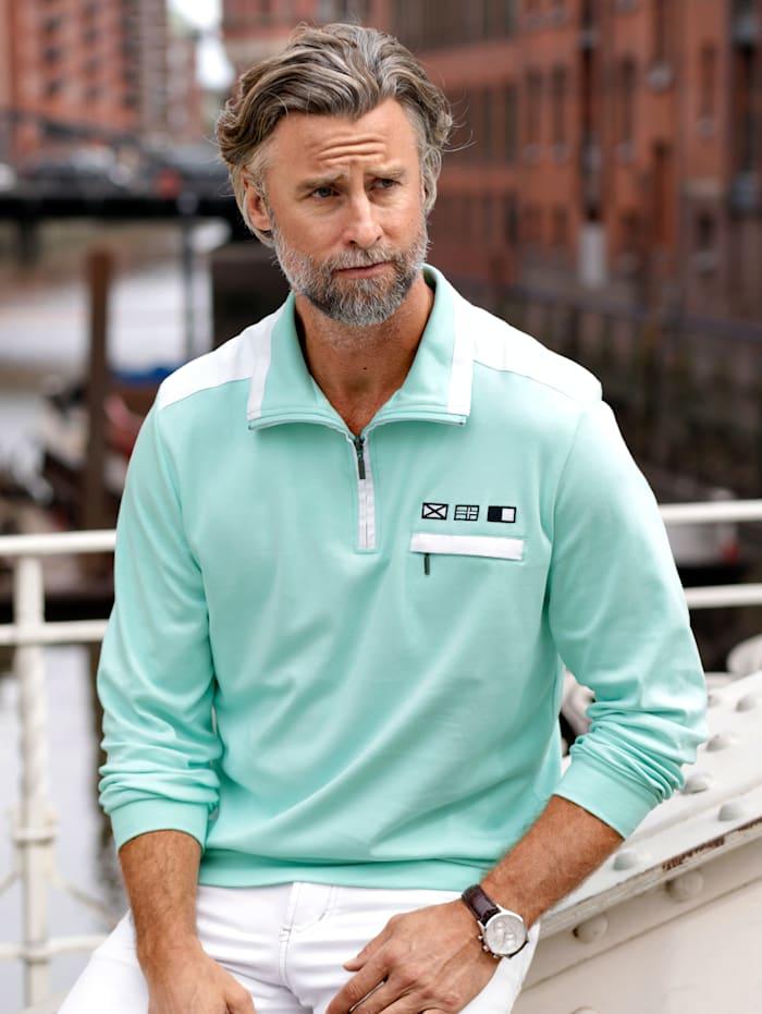 BABISTA Sweatshirt in zomerse kleuren, Mint