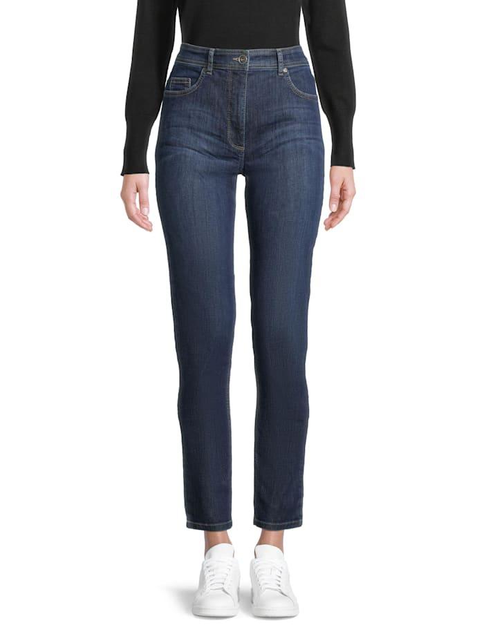 Slim Fit-Jeans mit aufgesetzten Taschen Material