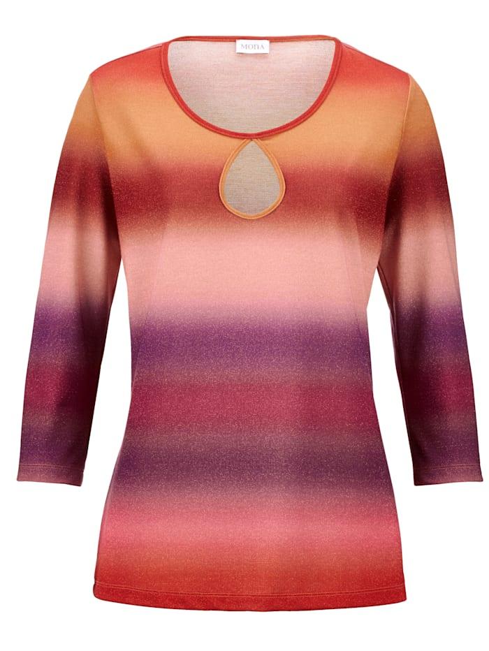 Shirt mit effektvollem Farbverlauf