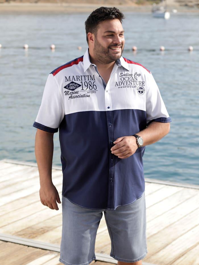 Overhemd met kentkraag