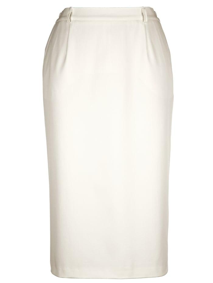 Klassisk kjol i elastiskt material