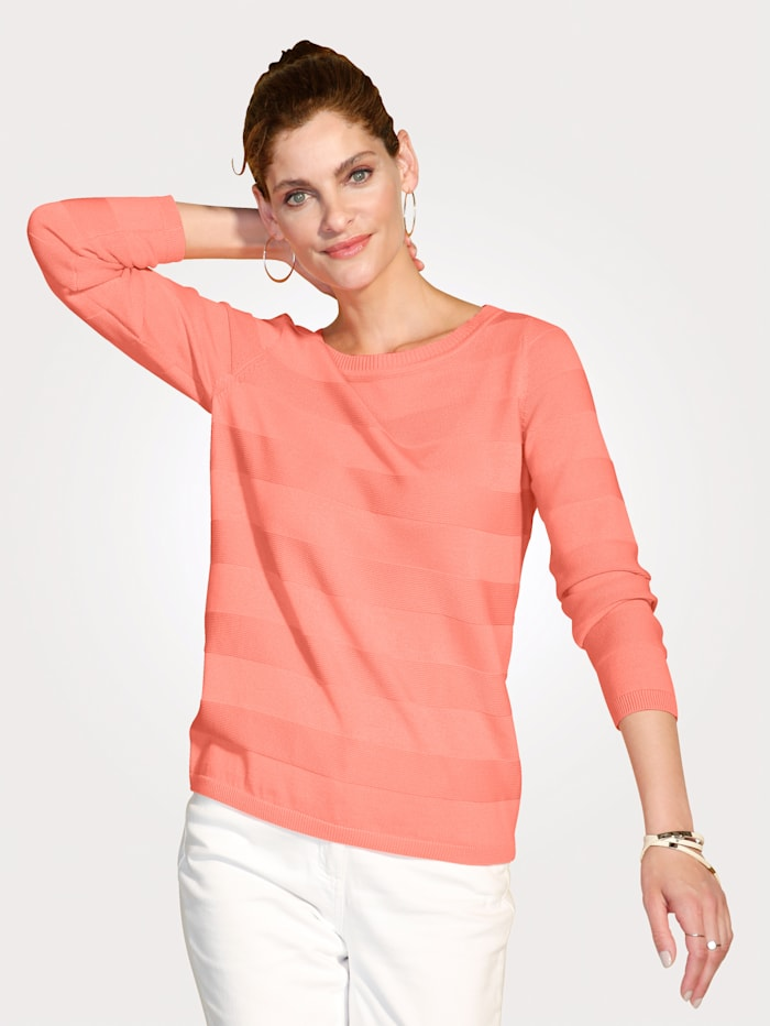 Jumper made from pure Pima cotton