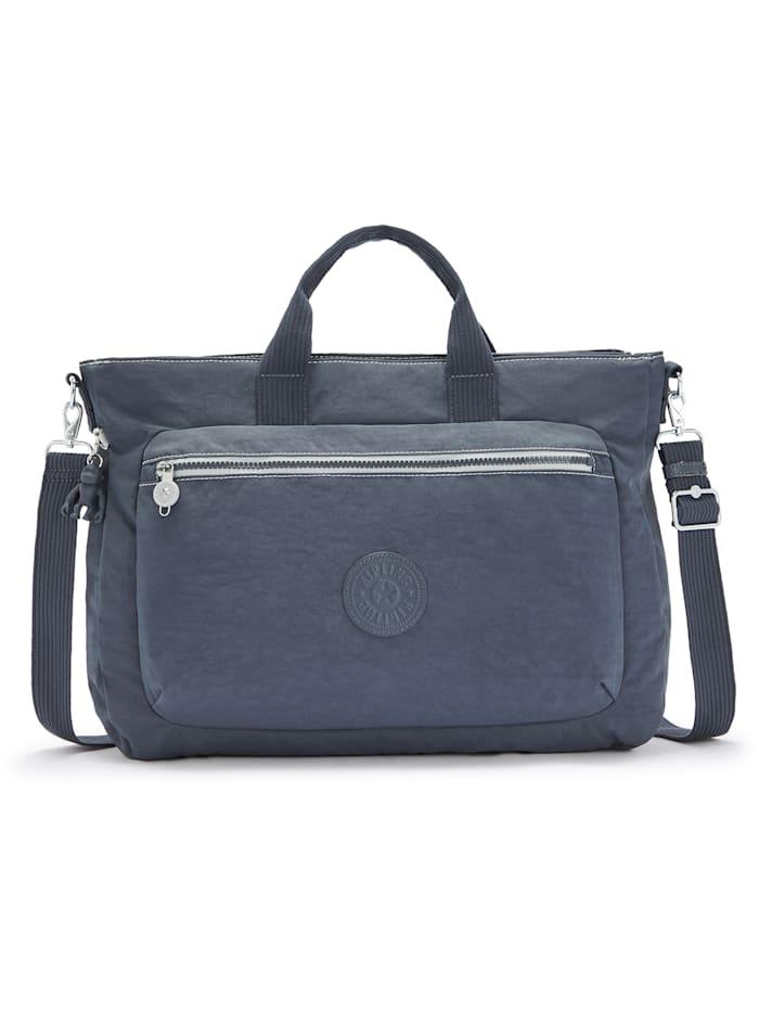 Kipling Basic Miho M Handtasche 40 cm Laptopfach, grey slate