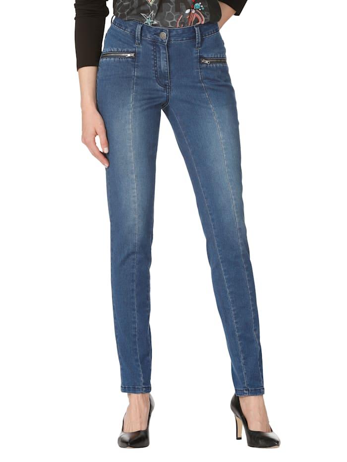 Jeans mit Mittelnaht
