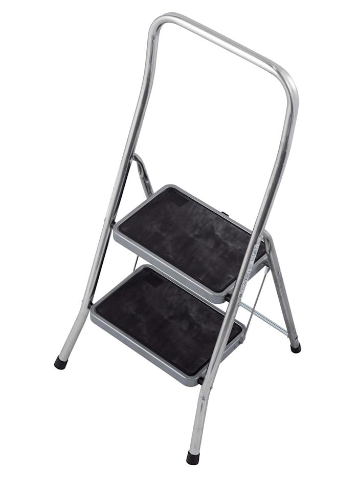 MedoVital Toppy XL-kjøkkentrapp med 2 trinn, grå