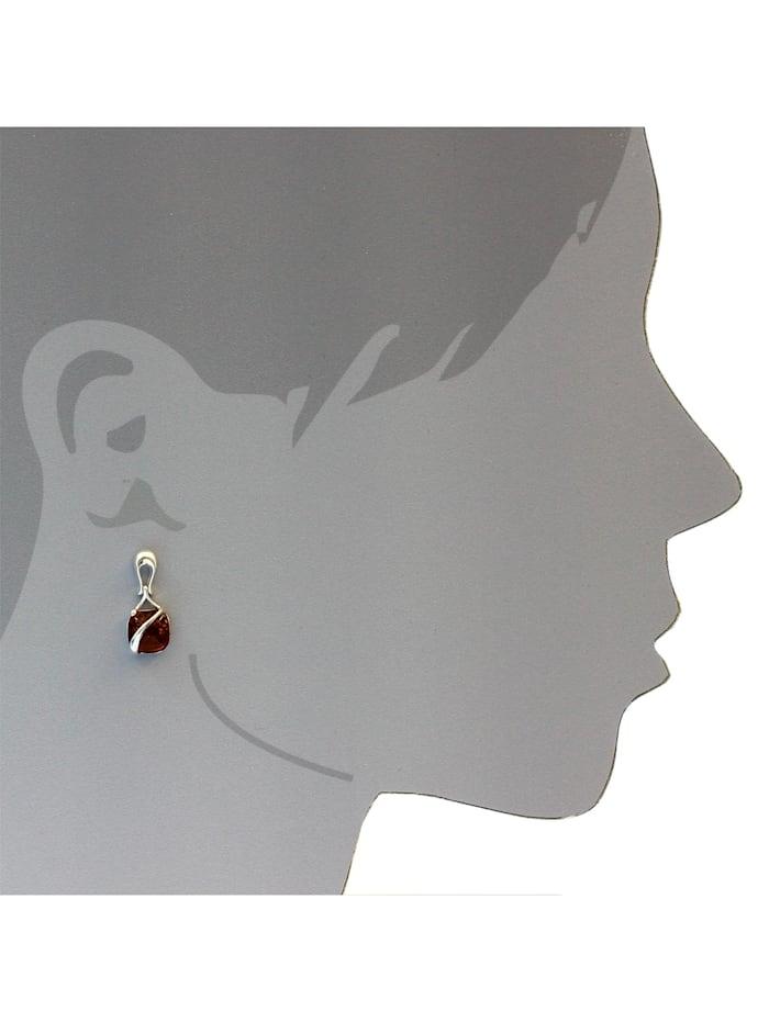 Ohrhänger - Eni - Silber 925/000 - Bernstein