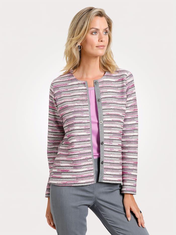Soft jacket Textured fabric