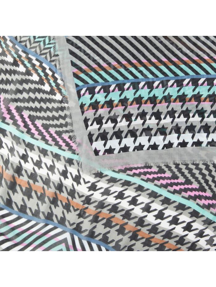 Edler Mustermix-Schal aus Modal
