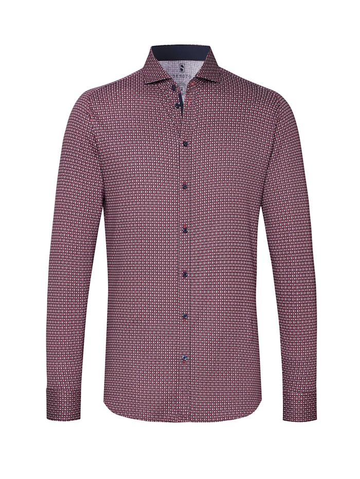 Desoto Jerseyhemd New Hai Langarm, red circles