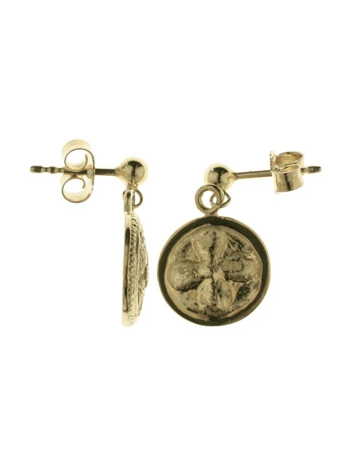 Ohrhänger - Hiddensee 13 mm rund - Gold 333/000 -