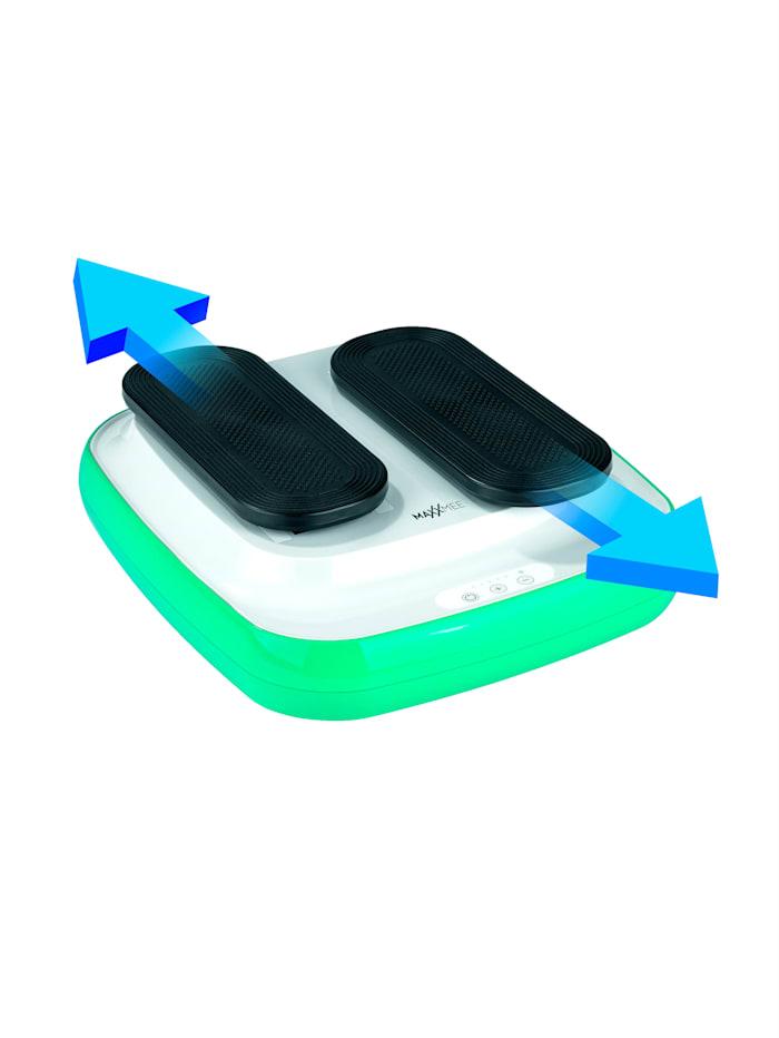 MAXXMEE Benträningsmaskin med 5 hastighetsnivåer, blå