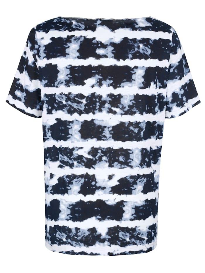 Shirt in batiklook