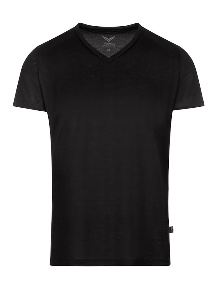 Herren V-Shirt aus 100% Lyocell