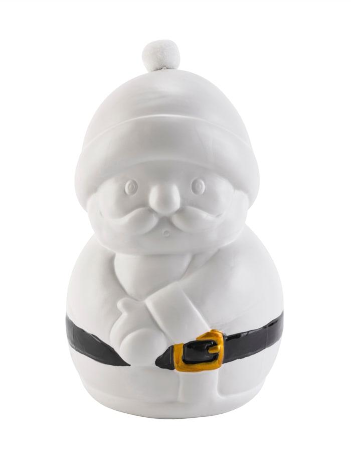 IMPRESSIONEN living Objet décoratif, Père Noël, Blanc