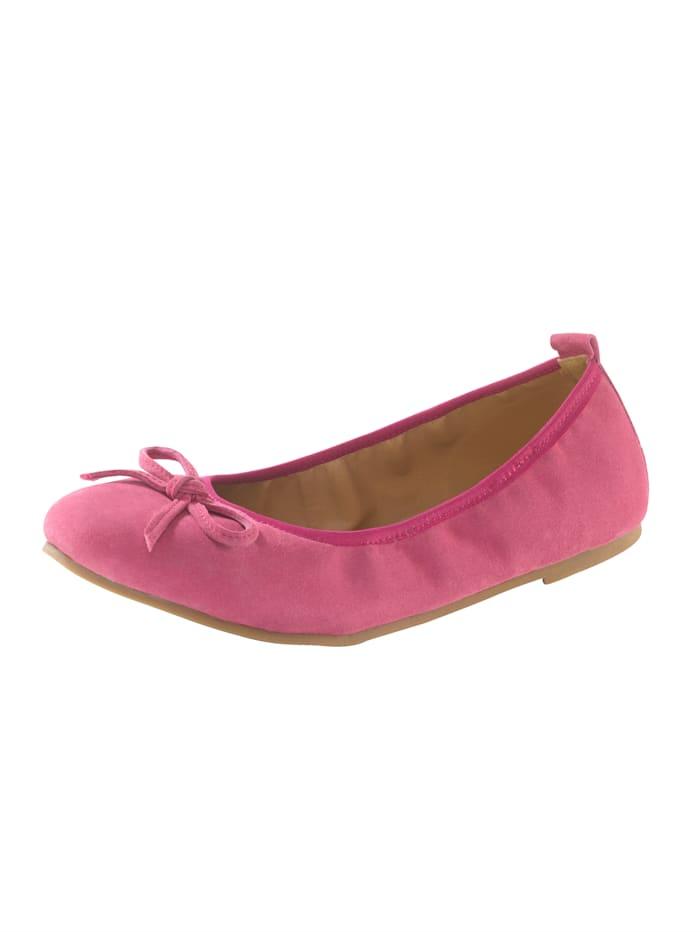 KLiNGEL Ballerina in zeitloser Optik, Pink