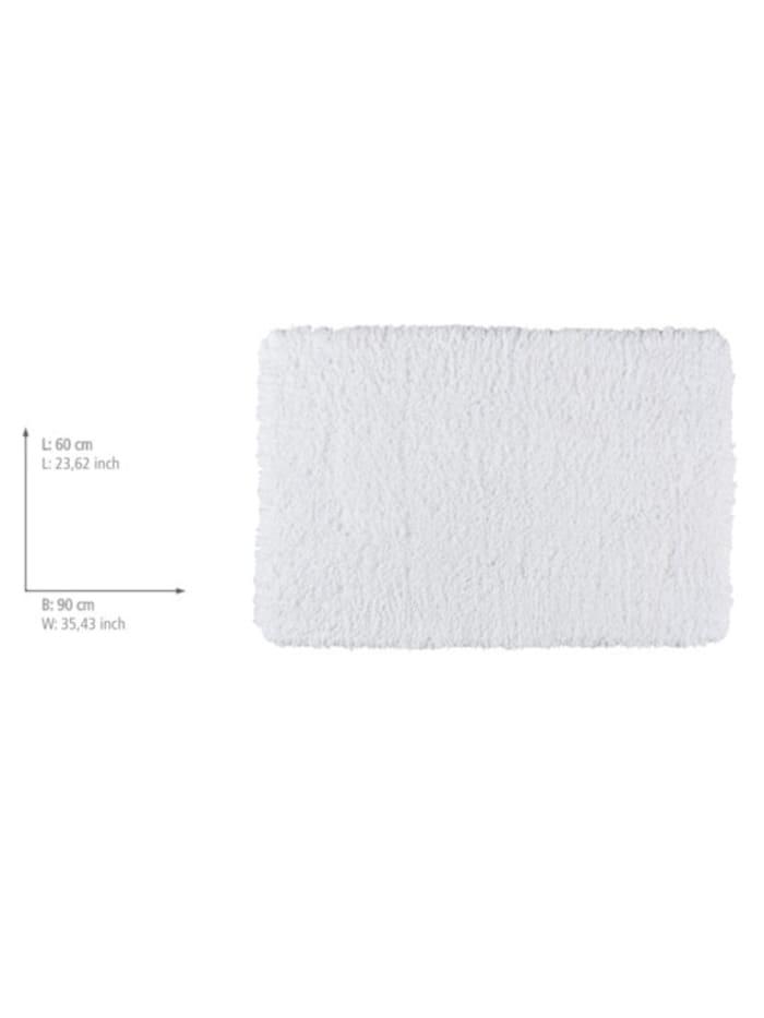 Badteppich Belize Weiß, 60 x 90 cm, Mikrofaser