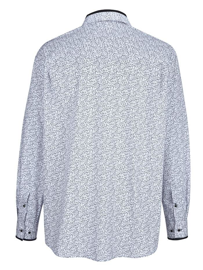 Overhemd met paisleyprint