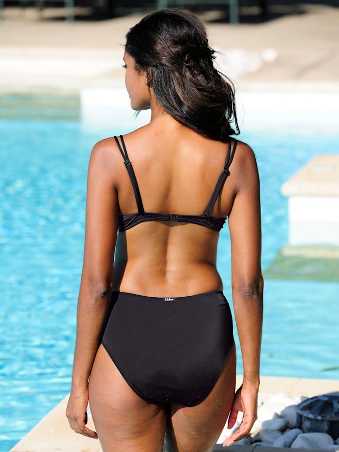 Bikini-Oberteil mit Zierbändern