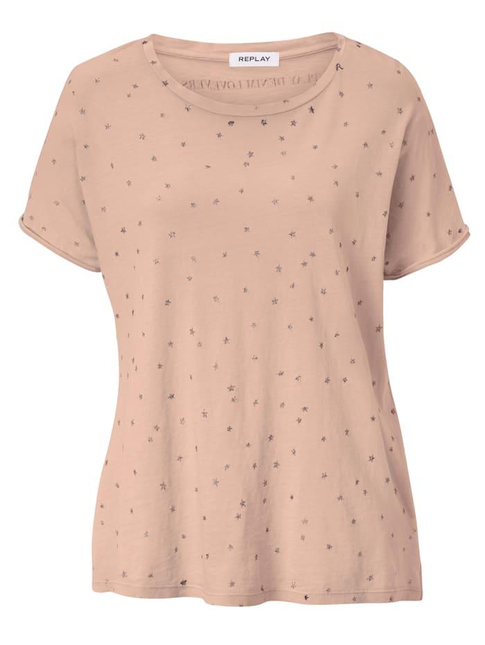 REPLAY Shirt, Rosé