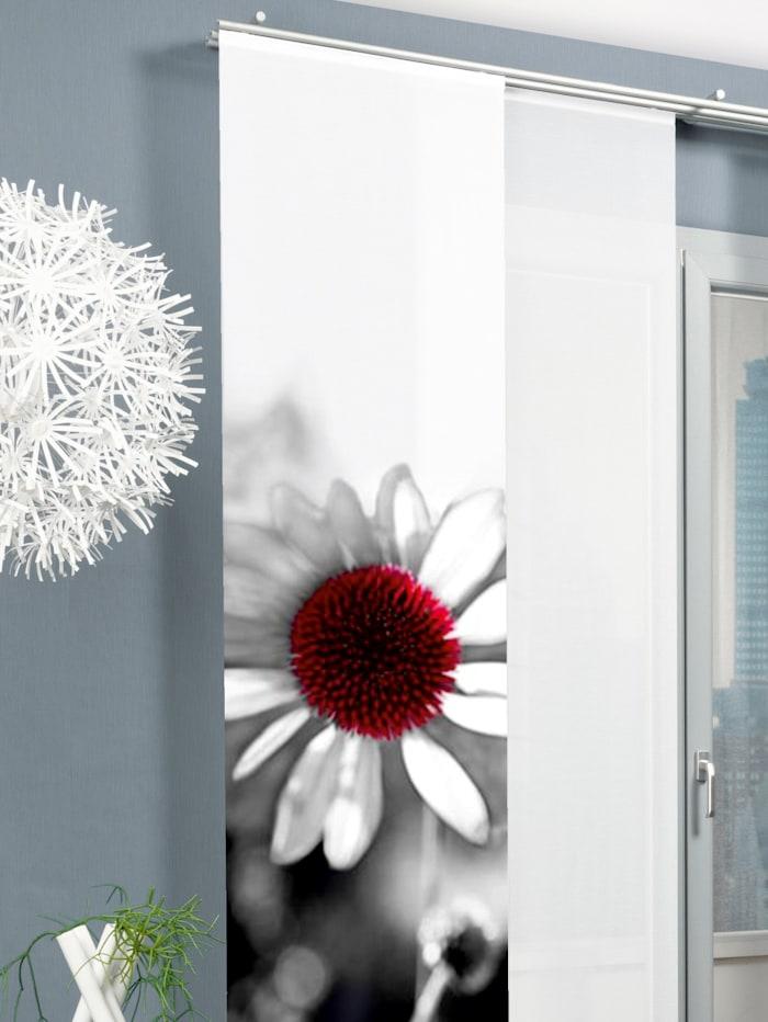 Home Wohnideen Schiebegardine Toulon, schwarz-weiß