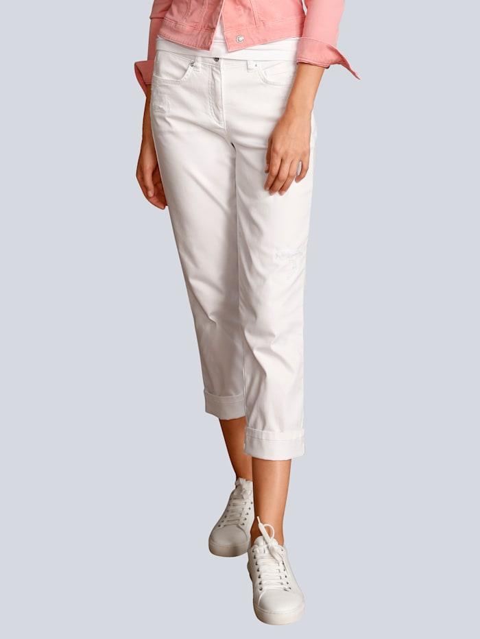 Marc Aurel Jeans in 5-Pocket-Form, Weiß