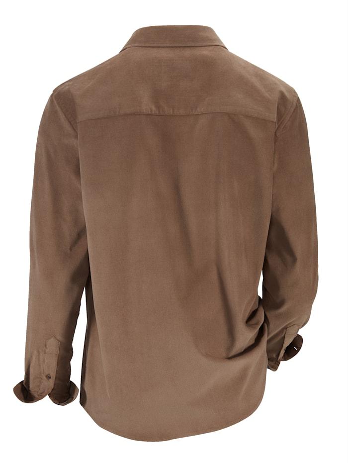 Manchesterskjorta i förtvättat, mjukt material