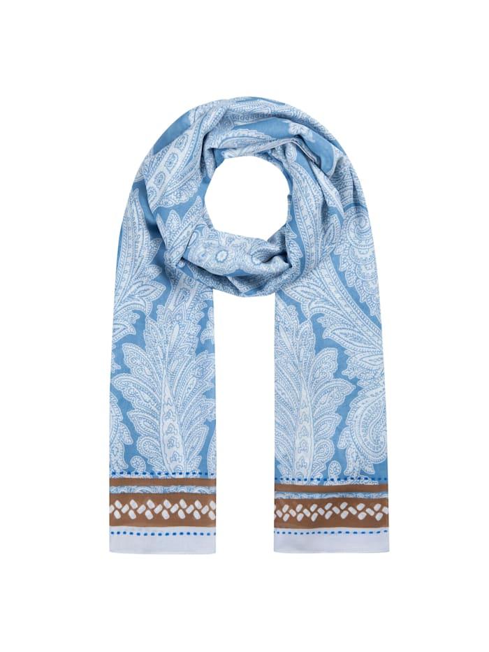 Codello Softweicher Paisley-Schal aus edler Viskose, jeans blue