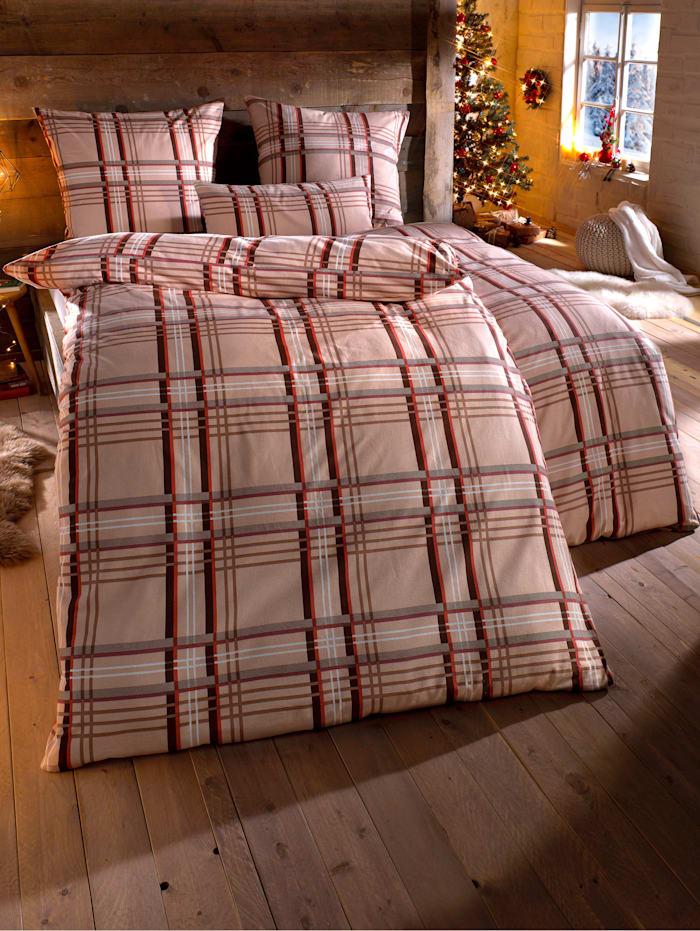 Webschatz Biber posteľná bielizeň 'Merry', Hnedá