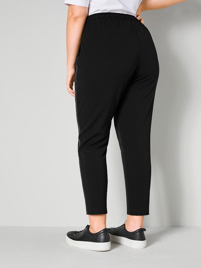 Jog kalhoty s dekorativním pásem po stranách