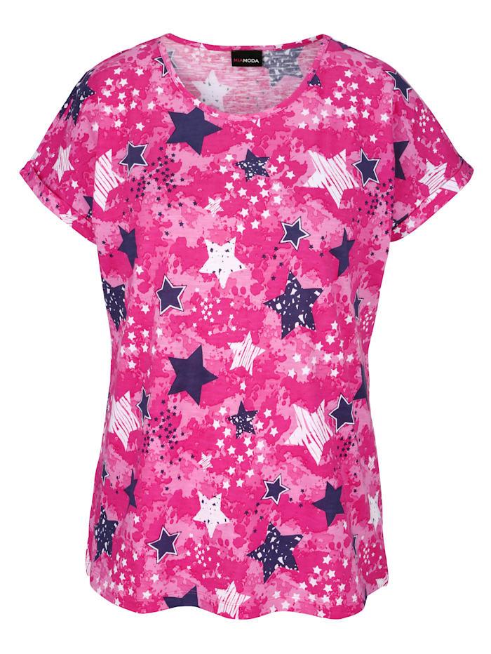 Shirt mit Sternenmotiv