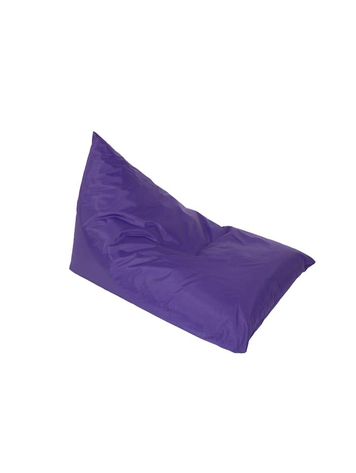 Linke Licardo Chillkissen Sitzsack Sitzkissen Sitzbanane Nylon purple 100/140 cm, purple