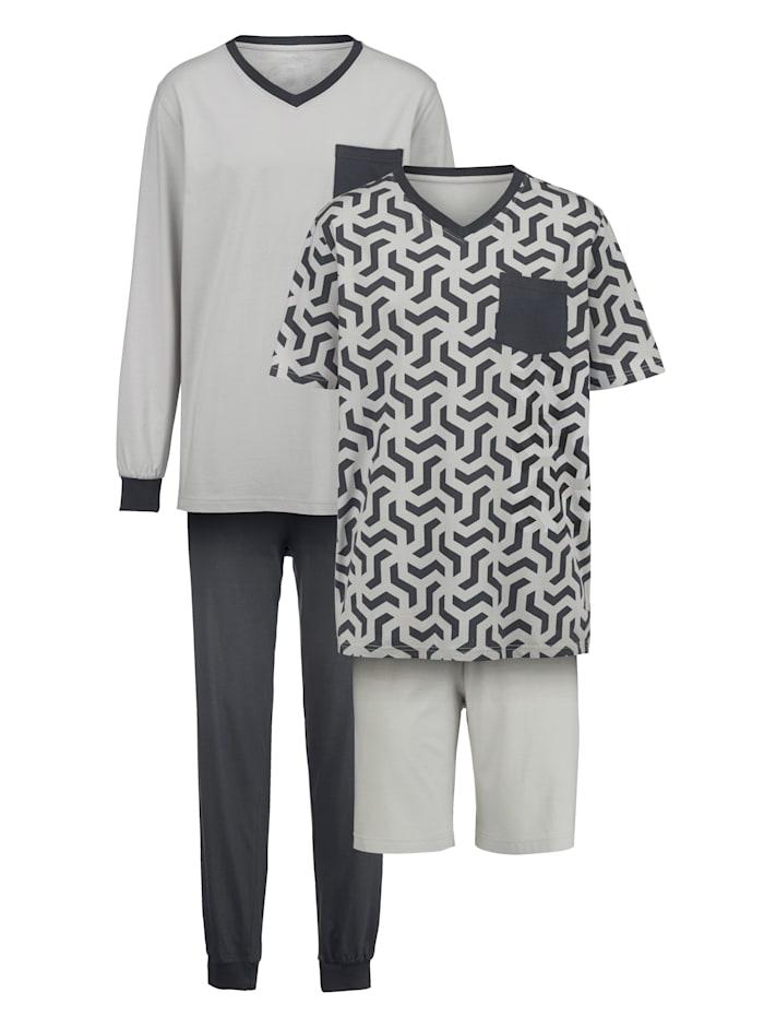Schlafanzug + Shorty Set
