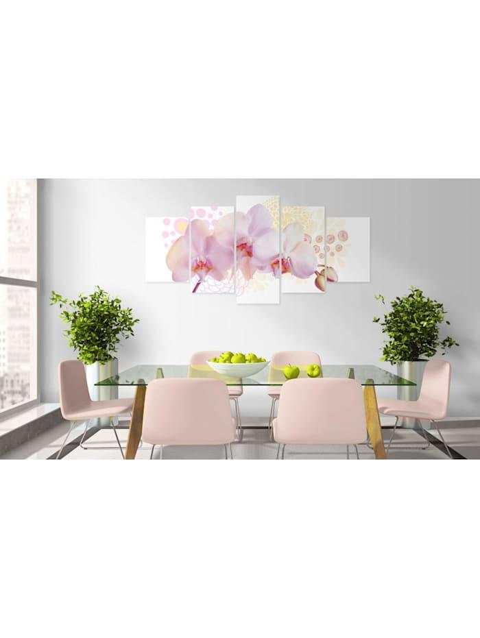 Wandbild Feine Orchidee