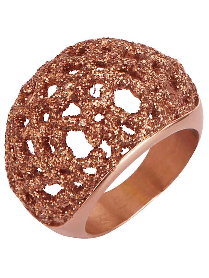 Jacques Lemans Dámský prsten, Růžová