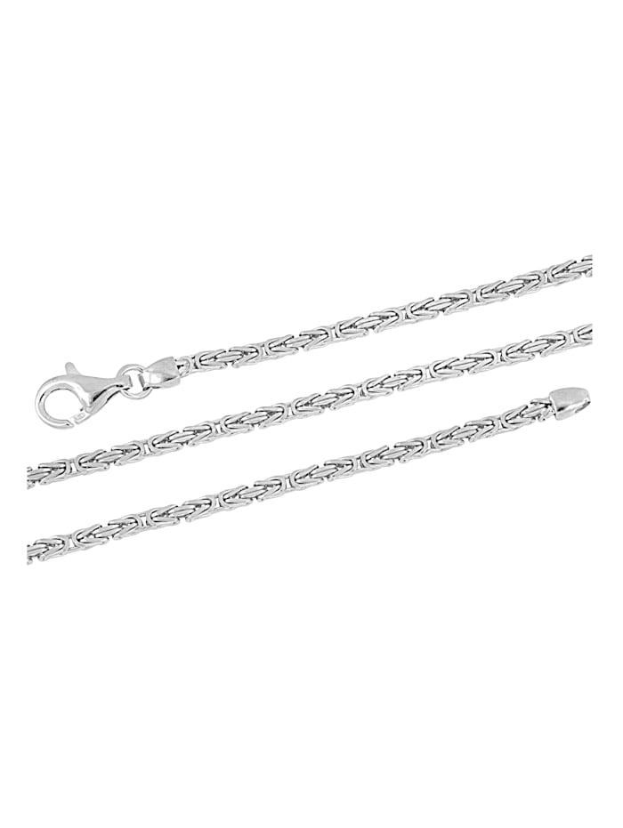 Amara Silber Königskettenarmband in Silber 925, Silberfarben