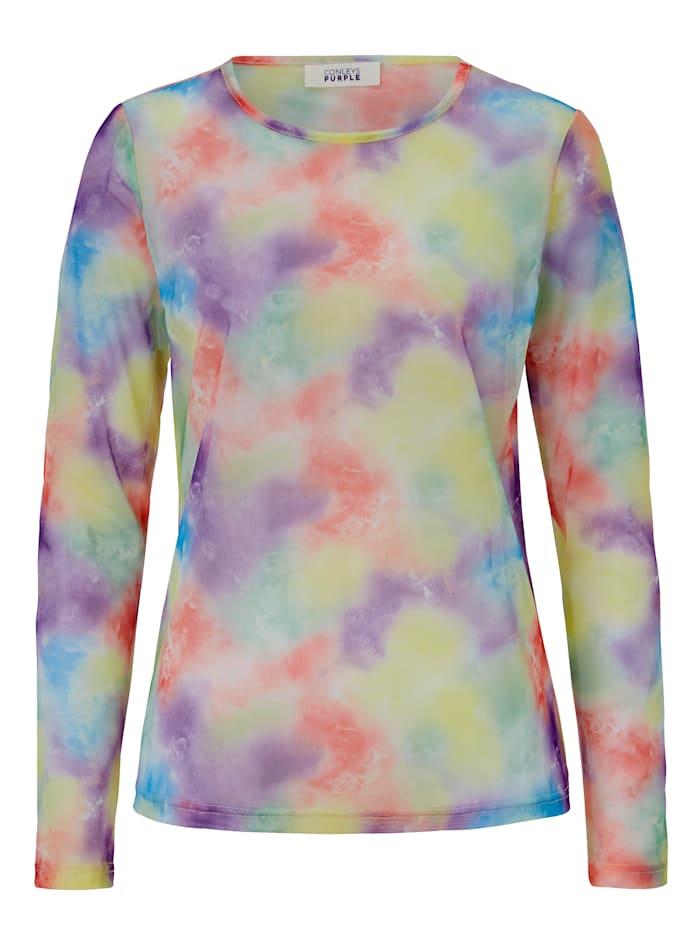 CONLEYS PURPLE Meshshirt, Multicolor