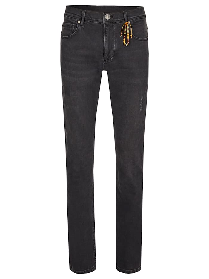 Daniel Hechter Straight-Fit Jeans, Anthracite