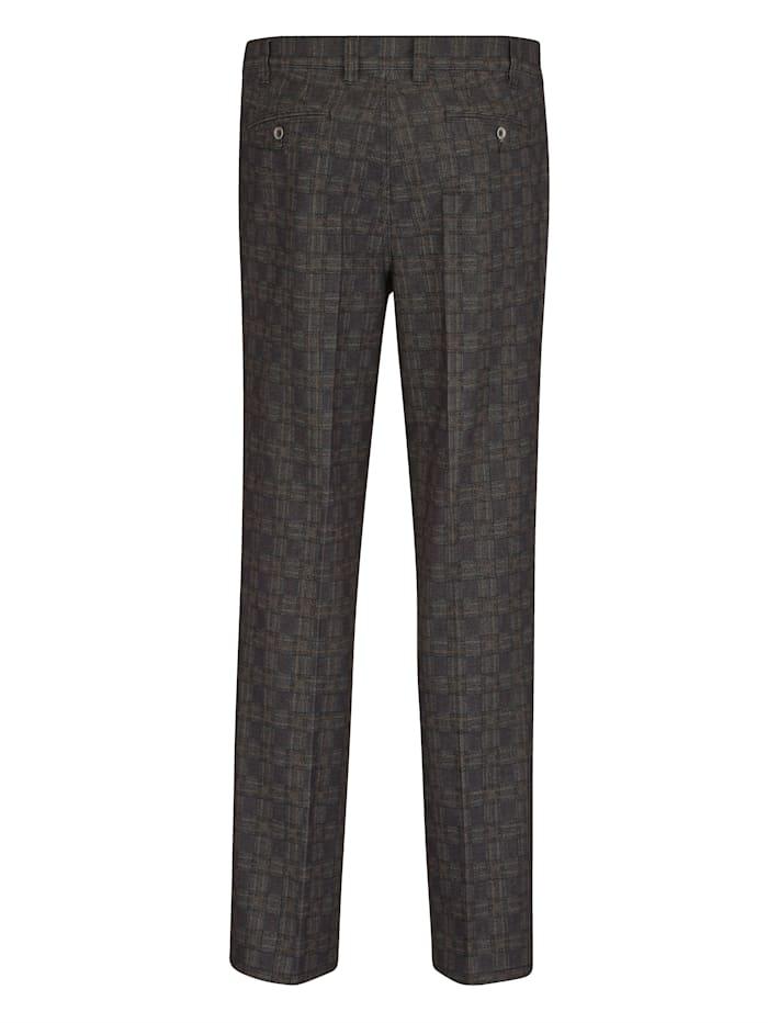 Pantalon d'aspect laine chic